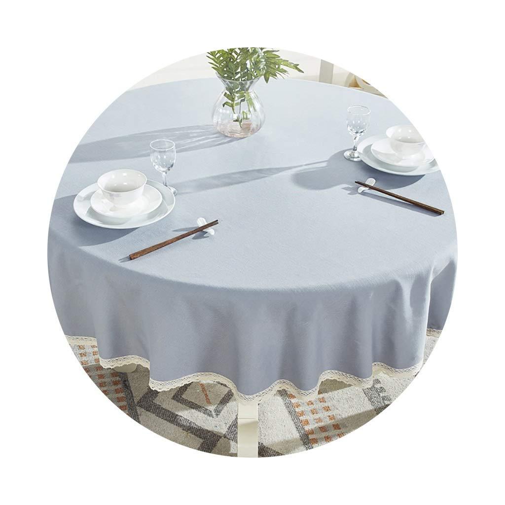 YTJ-JP 円形のテーブルクロス家庭用レストランに適した厚いヨーロッパの円形のコーヒーテーブルクロス (Color : A, Size : 200cm) 200cm A B07SS1YSCZ