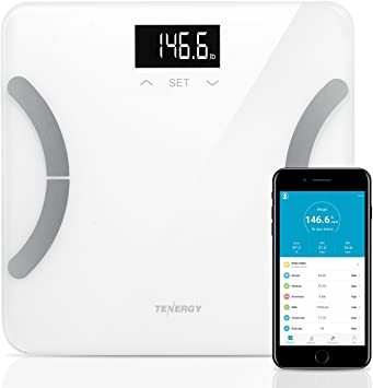 Amazon.com: Tenergy Vitalis - Báscula digital de grasa ...
