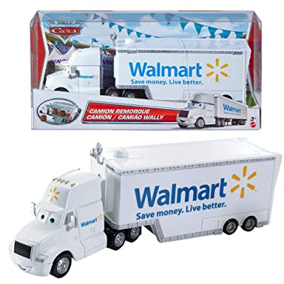 Disney/Pixar Cars Exclusive Die-Cast Vehicle Wally Hauler Walmart 1:55 Scale: Toys & Games