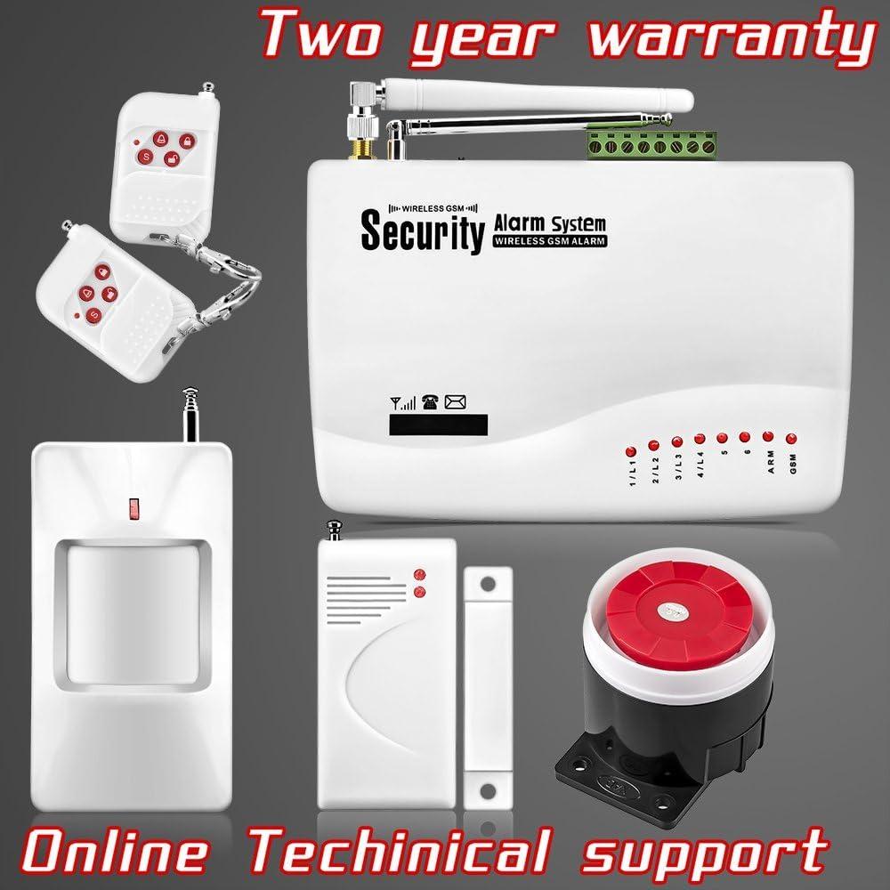 ARBUYSHOP inalámbrica GSM intruso del ladrón de doble antena ...