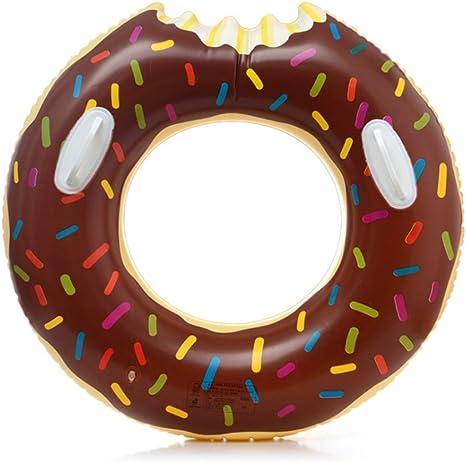 asdomo espesan asidero Donut hinchable piscina flotador Balsa ...