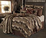 HiEnd Accents Briarcliff Lodge Bedding Set, Full