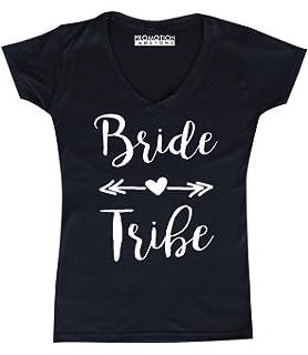 839ef8b83 Promotion & Beyond P&B Wedding Bridal Party Gear Bride Tribe Women's ...