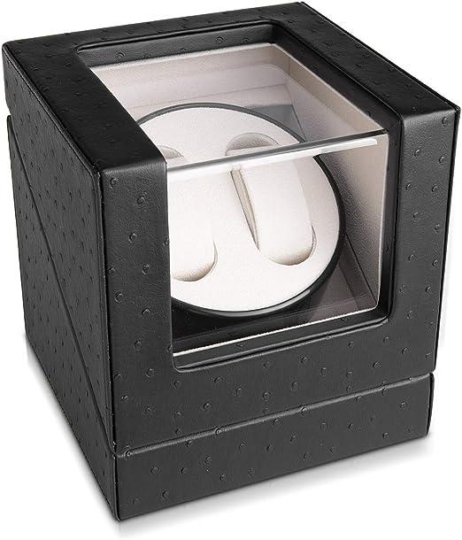 Navaris Caja giratoria para Relojes - Estuche Giratorio - Vitrina ...