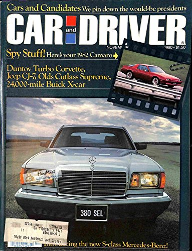 Car and Driver Magazine, November 1980