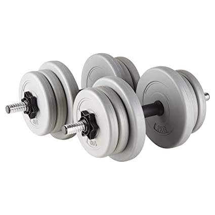 """Mirafit 1/"""" Vinyl Weight Plates//Discs Gym Training//Lifting Dumbbell Free Weights"""