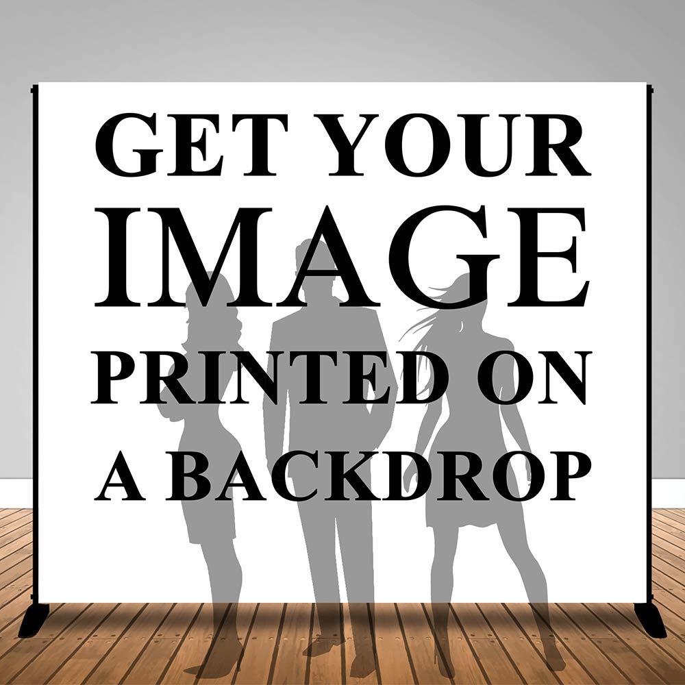 幅30.48cm x 高さ25.4cm デジタルプリント 標準ナイロン背景幕 背景幕 バナー カスタムプリント 002   B07JKBTFF2