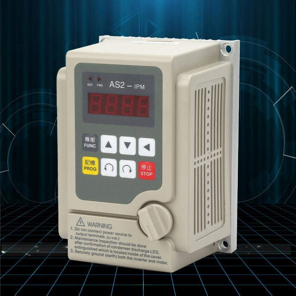 LHQ-HQ VFD Inverter Single Phase Input 3 Phase Output Professional Variable Frequency Drive 220V for 0.75KW Motor Speed Control