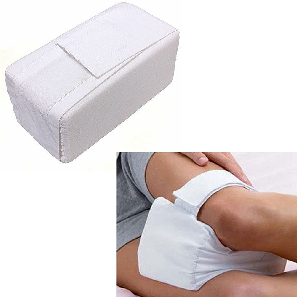 Leg Positioner Pillows,Thickyuan Knee Ease Pillow Cushion Pad,Comforts Cotton Cover Leg Pillow Aid Back Leg Pain Support For Pregnancy, Hip, Sciatic Nerve, Leg, Back With Washable Cover
