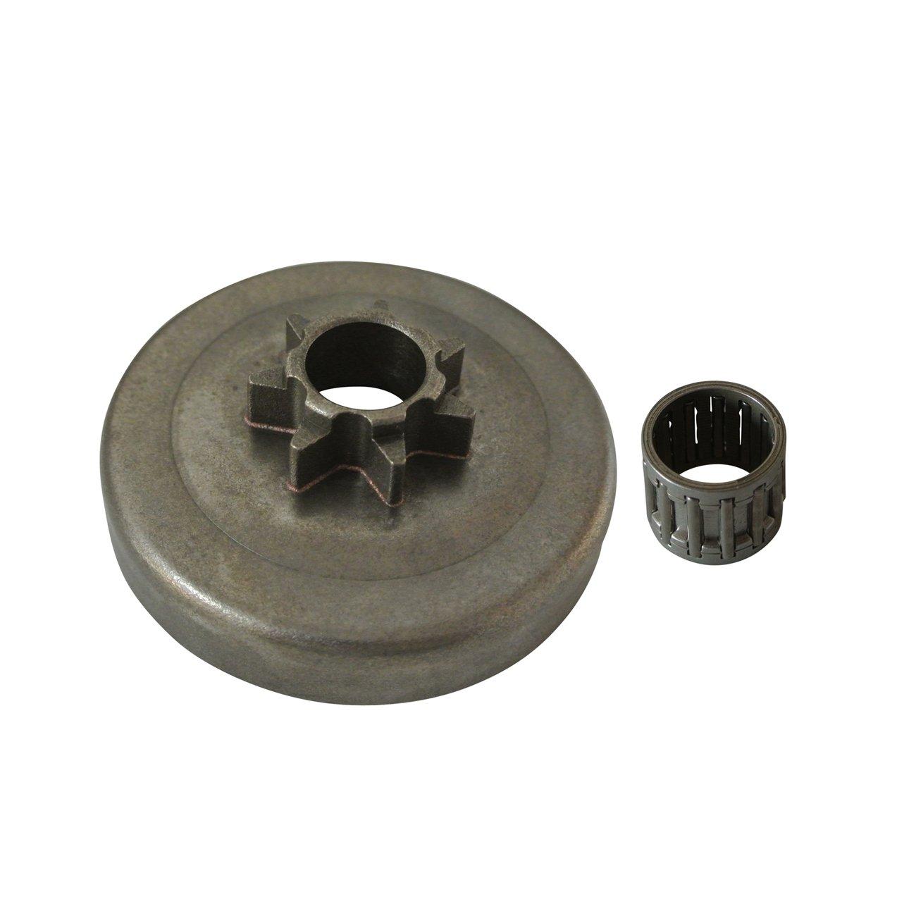 JRL Sprocket Clutch Drum Needle Bearing Fit Husqvarna 351 353 357 359 445 Chainsaw Kang Tai