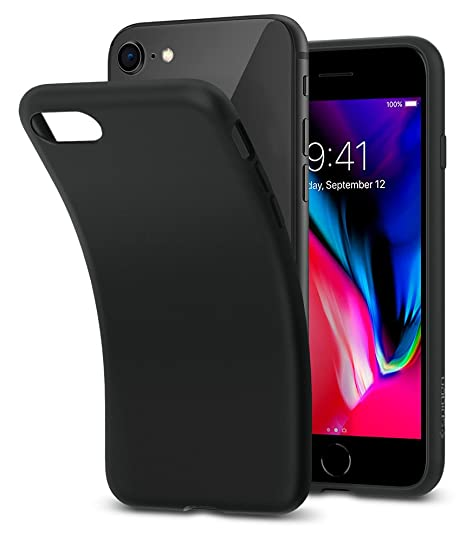 coque iphone 8 plus noir mat