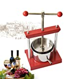 Cheese Tincture Herb Fruit Wine Manual Press