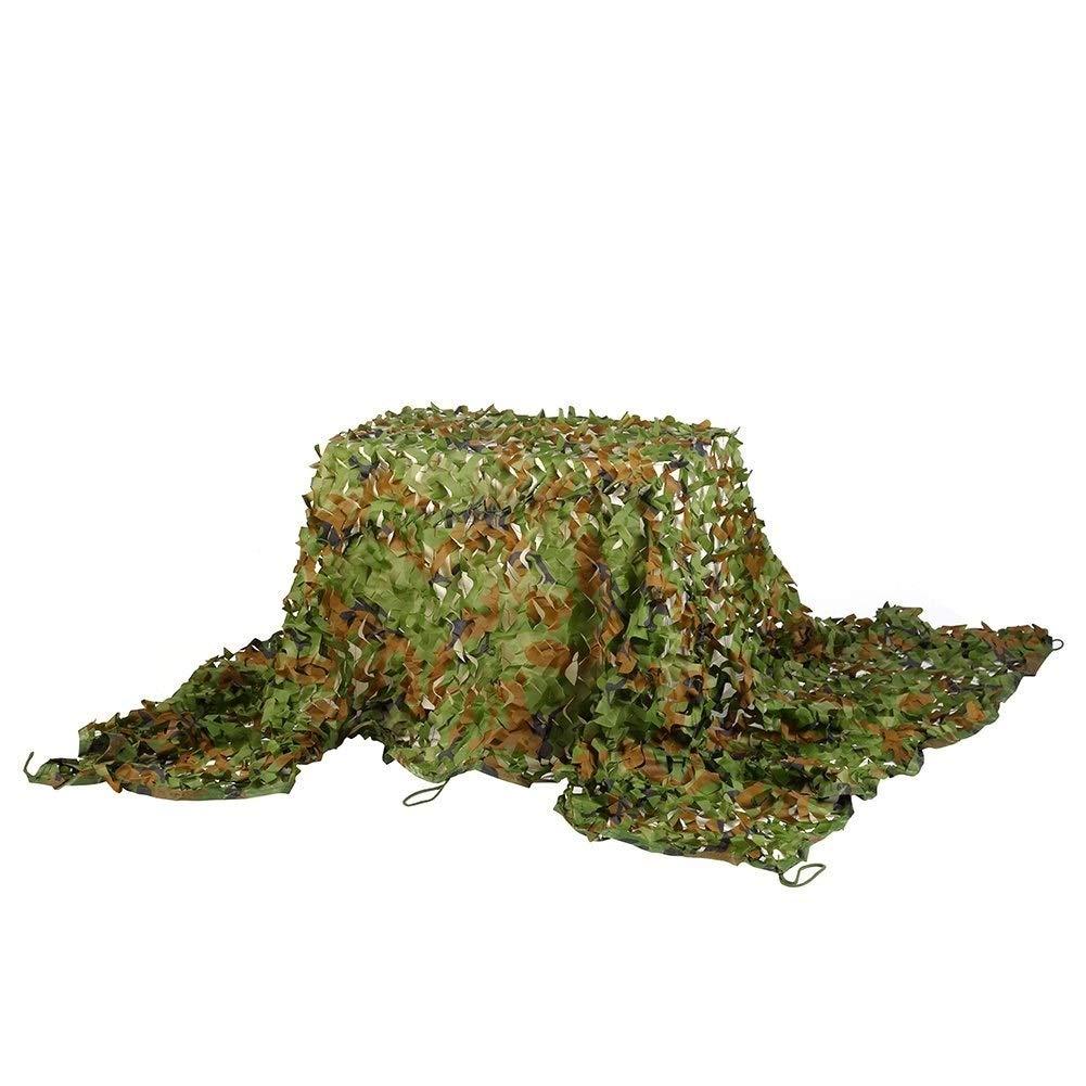 DONG Filet de Camouflage Jungle Oxford en Tissu Caché, Camping sur Le Terrain à La Chasse CS Tirant sur Les Jeux de Décoration pour Enfants, 2m  3m, 3m  5m Et Autres (Taille   5×5m)