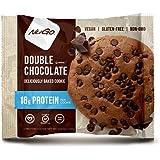 NuGo Gluten Free Protein Cookie, Double Chocolate, 3.53 oz, 12 Count