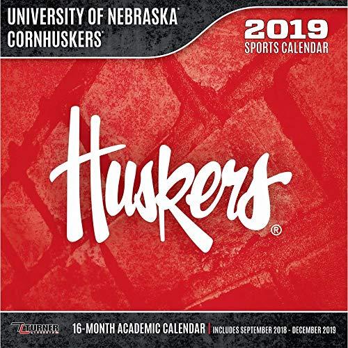 Nebraska Cornhuskers Wall Calendar, Nebraska Cornhuskers by Turner Licensing