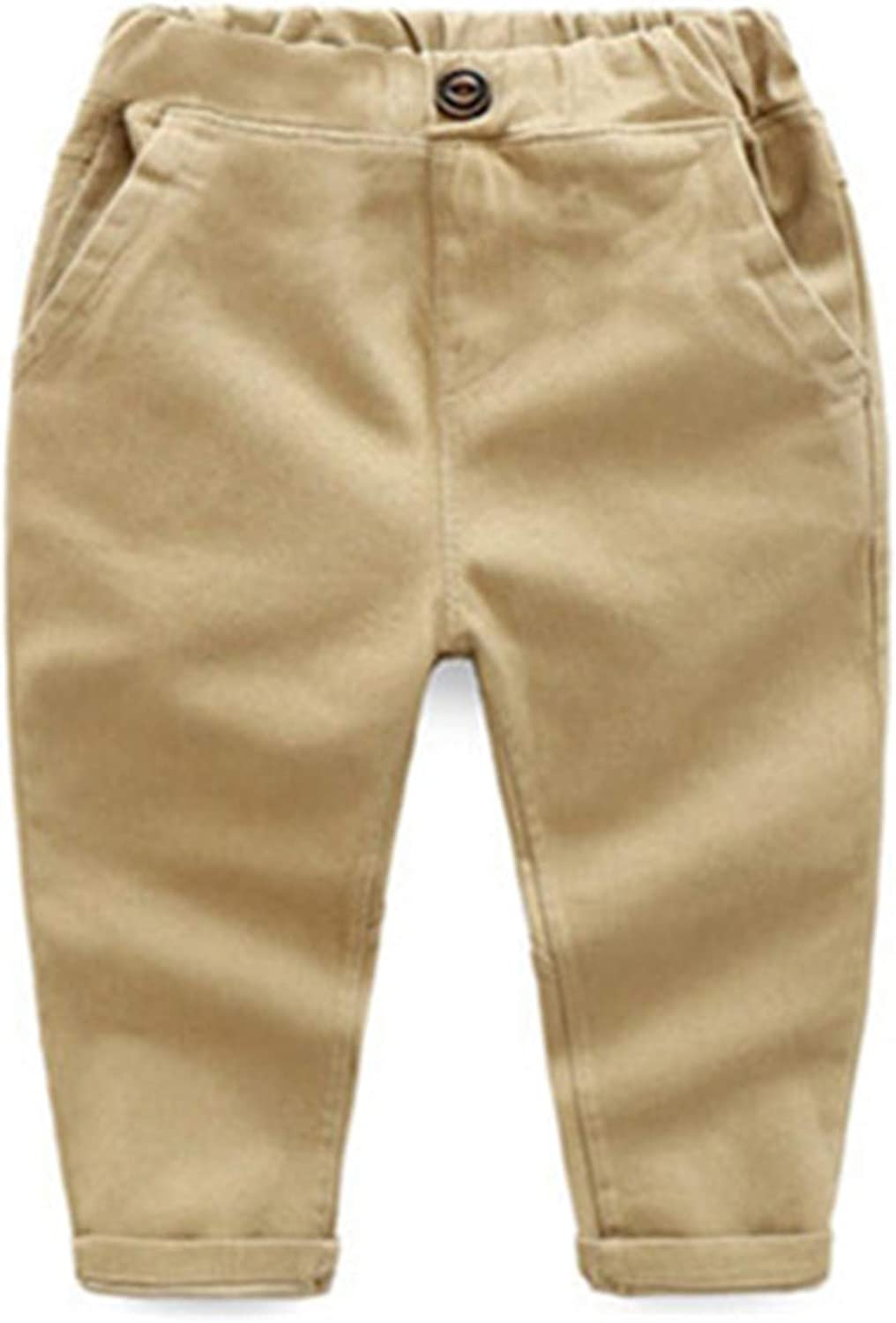 Susie Zechariah Children Spring Autumn Cotton Clothes Kids Pants for Baby Boys Trousers Woven