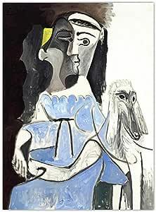 zxddzl Imprimir Lienzo Arte Pared Imagen Cartel Lienzo impresión Pintura Picasso España 50x70cm sin Marco K06287: Amazon.es: Hogar