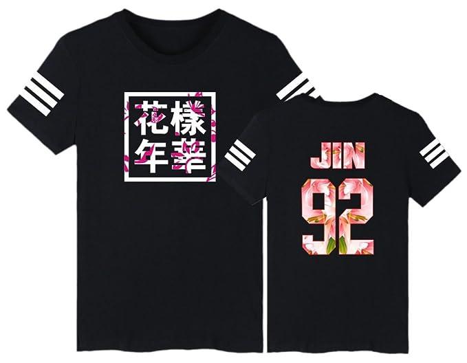 EmilyLe Unisex T Shirt Bangtan Boys Jimin J Hope V Jung Kook Suga Jin Rap Monster