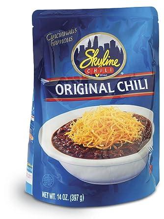 Skyline Chili Original, bolsa de microondas de 354 ml ...