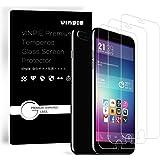 iPhone 8 Plus / 7 Plus Screen Protector, Vinpie iPhone 8 Plus Tempered Glass Screen Protector 0.3mm Ultra Clear for Apple iPhone 8 Plus / iPhone 7 Plus /iPhone 6S Plus, 6 Plus 5.5''(3-Pack)
