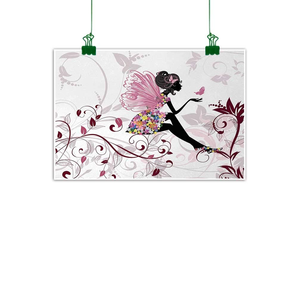Modern Home Art Decor Fairy Butterfly Oil Painting Picture Printed On Canvas III
