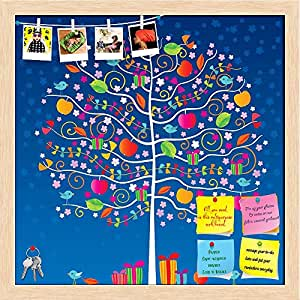 Christmas Tree Display Board.Amazon Com Artzfolio The Magic Tree Printed Bulletin Board