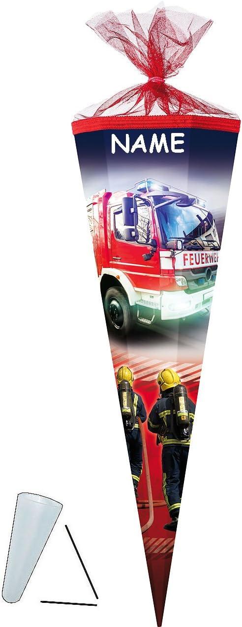 passend f/ür Schult/üte Zuckert/üte ALLE Gr/ö/ßen mit // o.. Feuerwehr Namen Schleife alles-meine.de GmbH personalisierte 3D B/änder rund oder eckig incl 22 // 35 // 50 // 70 // 85 cm