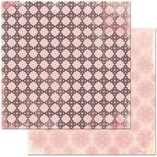 Bo Bunny BBU21501004 Petal Lane Paper 12x12 Posh Petal Lane Posh Paper (Petals Posh)