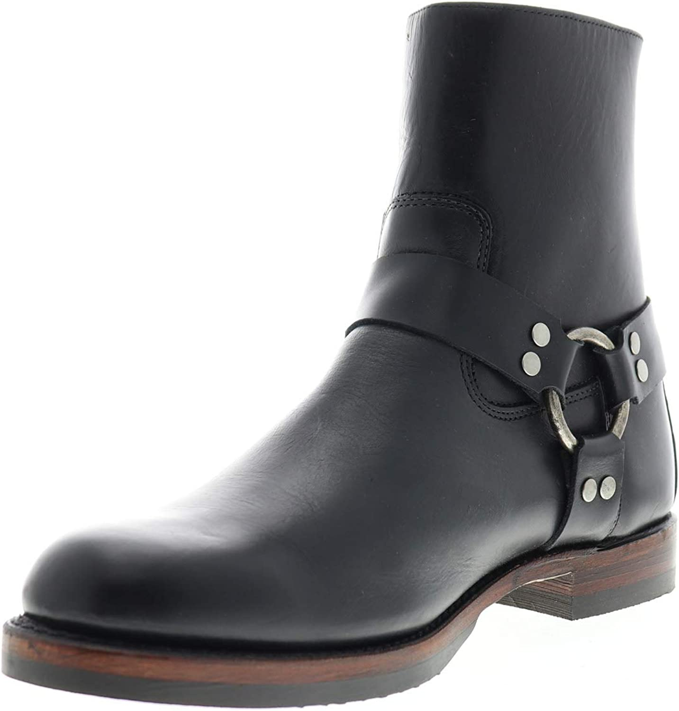 Frye Mens John Addison Harness Back Zip Casual Dress Boots Boots
