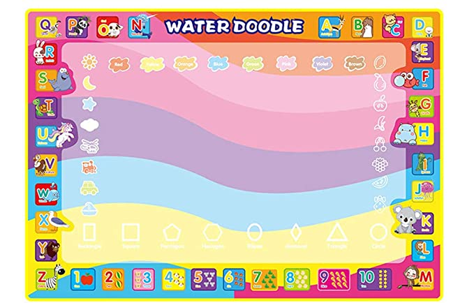 Amazon Com Binory 100x70cm Children Educational Toys Magic Letter