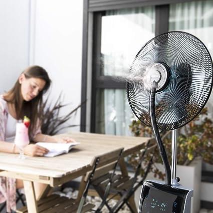 Cecotec EnergySilence 790 FreshEssence Ionic Nebulizador digital con funci—n ionizador, difusor de aromas y anti-mosquitos, 5 aspas, 90 W, 3 velocidades, Temporizador 12h, Dep—sito 3.1L: Amazon.es: Hogar