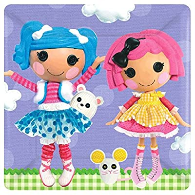 amscan Dinner Plates | Lalaloopsy Collection | Birthday: Toys & Games