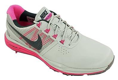 brand new daf3a ffb78 ... Nike Women s Lunar Control Golf Shoes (10, Pure Platinum Pink Pow  Charcoal ...