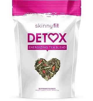SkinnyFit 100% organic ingredients detox tea