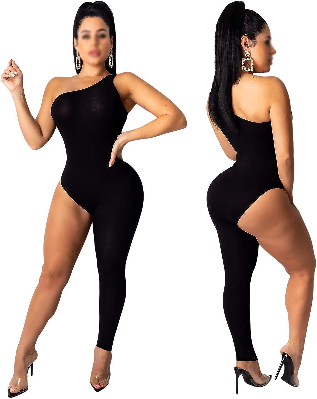 Silver Basic Women Casual Sleeveless Bodycon Romper Jumpsuit Club Bodysuit Short Pants