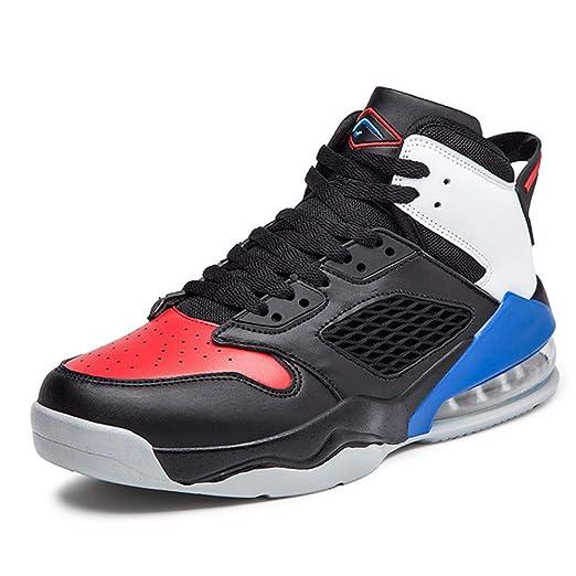 FJJLOVE Zapatos De Baloncesto De Los Hombres, La Absorción De ...