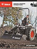 2009 Bobcat Implements & Attachments for Compact Tractors brochure catalog