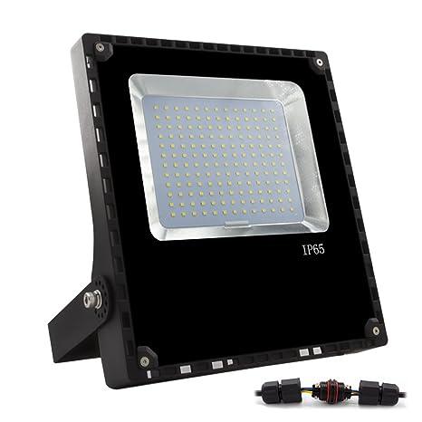 ALOTOA® 100W Foco proyector LED para exteriores, Blanco cálido ...