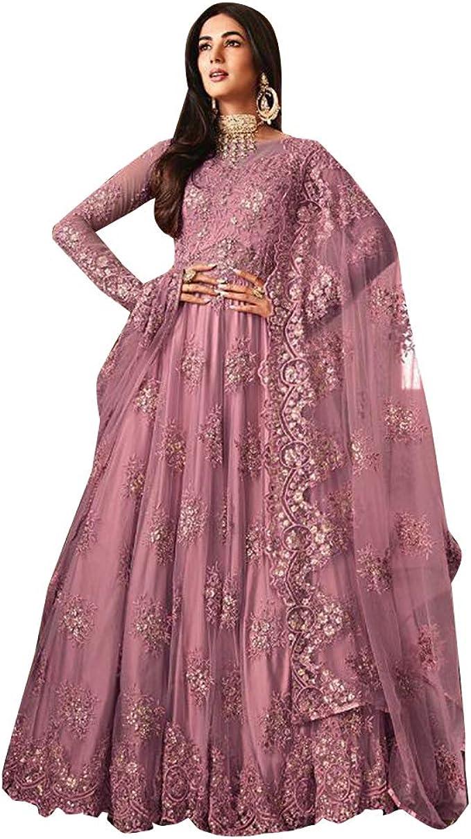 Anarkali Pakistani Bollywood Women Designer Party Wear Suit Salwar Kameez