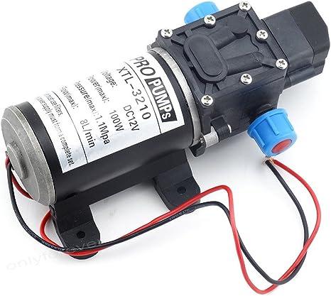 Caravane Labellevie DC12 V Pompe /à Eau Automatique Haute Pression Diaphragme 5L//m pour RV Bateau