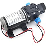 Labellevie DC12 V 8L/m Pompe à Eau Automatique Haute Pression Diaphragme pour RV / Caravane / Bateau