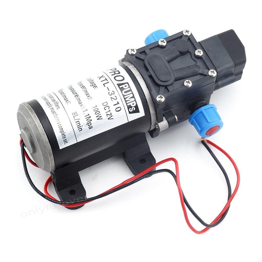 Labellevie DC12V 8L//m Wasserpumpe Automatische Hochdruck Membran f/ür Wohnmobile Wohnwagen Boot