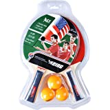 Ping Pong Bat Pen-hold Grip Hand-shake grip Table Tennis Racket Portable with Bag Sports Accessory For Training-transverse