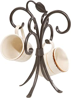 product image for Stone Country Ironworks Sassafras Mug Rack-Antique Copper
