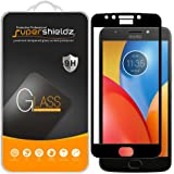 "[2-Pack] Supershieldz for Motorola ""Moto E4 Plus"" / ""Moto E Plus"" (4th Generation) Tempered Glass Screen Protector, [Full Cover] Anti-Scratch, Bubble Free, Lifetime Replacement Warranty (Black)"