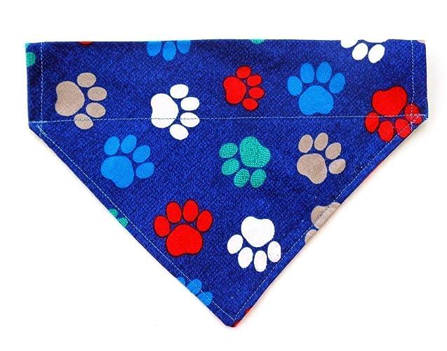 M Over the Collar Dog Bandana Reversible Bones /& Dogs S L