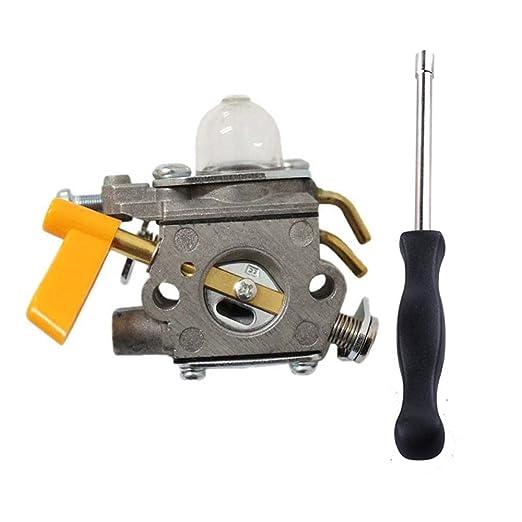 poweka carburador para RYOBI 30 cc desbrozadora cortador de ...