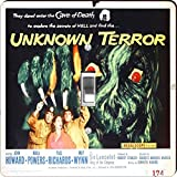 Rikki Knight RK-LSPS-3711 Vintage Movie Posters Art Unknown Terror 2 Design Light Switch Plate Cover