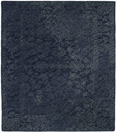 Kaleen Rugs Montage Collection MTG09-10 Denim Hand Tufted 9 x 12 Rug