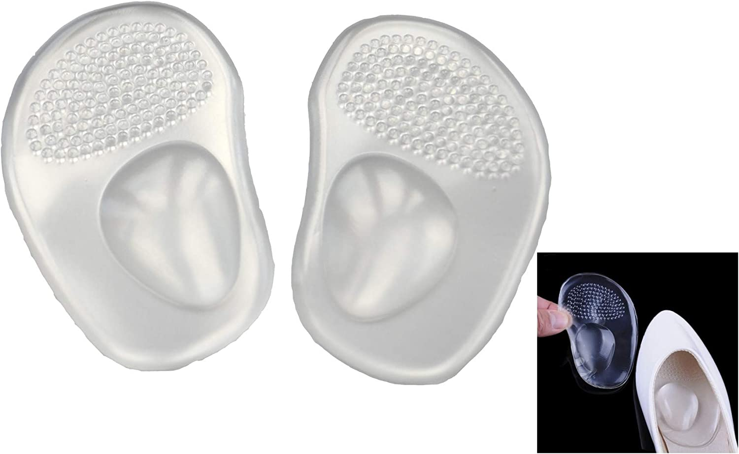 Shoe Insole Pad Gel Arch Support Pain Relief Insert Sport Practical and Useful